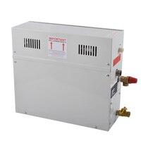 9KW 220 В 380 В дома парогенератор с пульта дистанционного управления сауна спа экран для душевой пароход машина проста в эксплуатации быстрый н