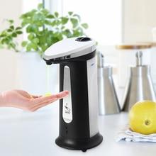 400 мл Бесконтактный дозатор мыла автоматический ABS кухня ванная комната инфракрасный контейнер для жидкого мыла диспенсер seifenspender