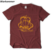 HARRY POTTER Magic Fahsion T Shirts O Neck Big Yard Cotton Boy S Tee T Shirts