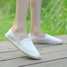Туфли женские однотонные в рыбацком стиле плоская подошва лоферы