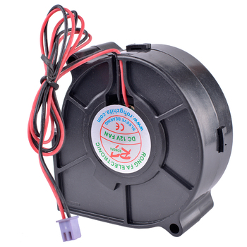 COOLING REVOLUTION 7530 75mm 12V 0.13A 75mm humidifier centrifugal turbo blower cooling fan