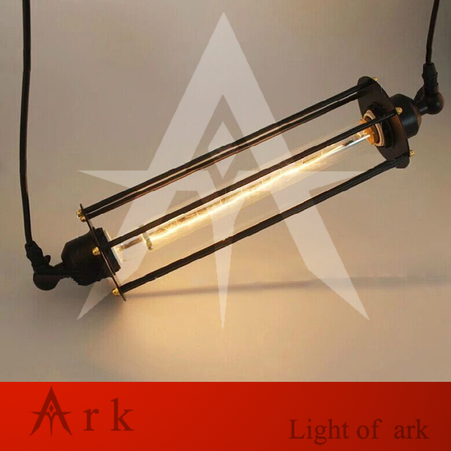ark light american old furniture nostalgic vintage wrought iron pendant light for living room coffee house
