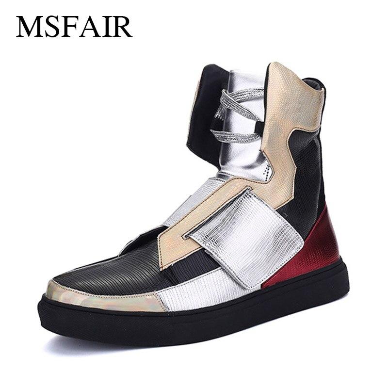 Msfair hommes chaussures de skateboard chaussures de toile de Skate hommes marque chaussures de Sport athlétique en plein air pour hommes marche baskets hommes