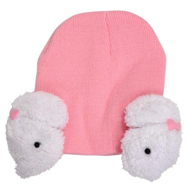 Baby Kleinkind Kinder Jungen Mädchen Winter Ohrenklappen Warmer Hut