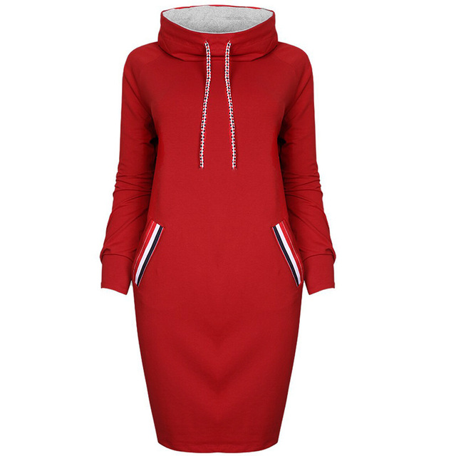 Autumn Winter Long Sleeve Casual Party Dress 3
