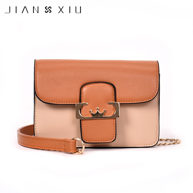 JIANXIU Women's Shoulder Bag PU Leather Solid Flap Girl Handbag Soft High Quality Fashion Shoulder & Crossbody Bags ford cup viscosity cup viscosity measurement cup paint viscosity cup 3 4 optional page 5