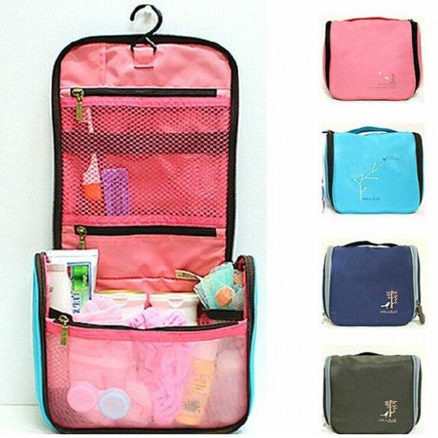 e4eb6df1a040 Free Shipping Men Women Waterproof Taslan Wash Kit Toiletry Bag Hanging  Cosmetic Organizer Makeup Case Travel Camping