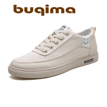buqima New mens shoes board canvas fashion comfortable casual lightweight