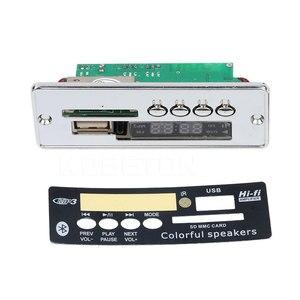 Image 2 - Автомобильный Bluetooth MP3 плеер kebidu с громкой связью, 12 В, встроенный MP3 декодер, плата модуля, USB FM Aux радио с дистанционным управлением
