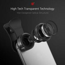Segsi 3-in-1 Phone Camera Lens Wide Angle Macro Fisheye Lens Kit Universal Lentes Celular For Xiaomi iPhone 5 5s 6 6s fish eye