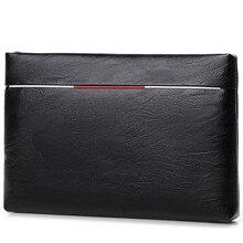 2020 nuovo di alta qualità sacchetto di Mano degli uomini di grande capacità cartella di affari borsa casual in pelle morbida borsa della borsa della busta della frizione degli uomini di borsa