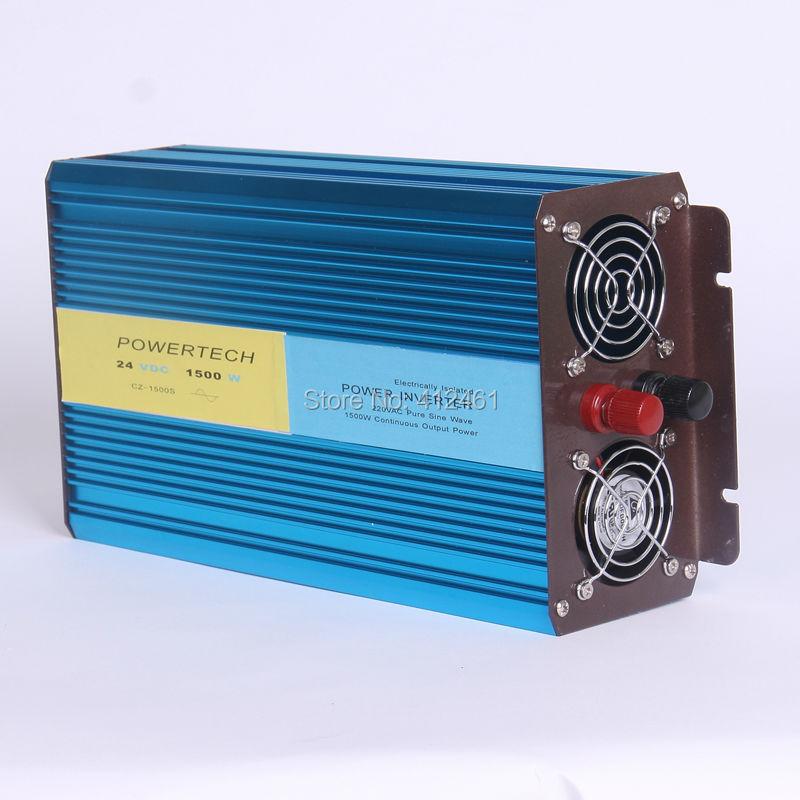цена на CC a CA de onda sinusoidal pura DHL Or Fedex free shipping 1500W Pure Sine Wave Inverter 3000w peak For Wind and solar energy