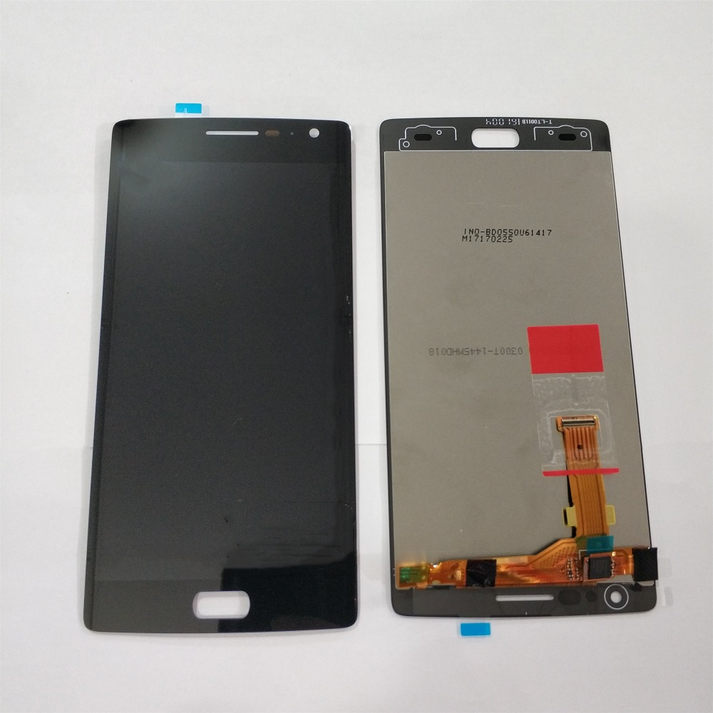 For <font><b>Oneplus</b></font> Two <font><b>OnePlus</b></font> <font><b>2</b></font> One Plus <font><b>2</b></font> A2001 A2003 A2005 LCD Display Touch <font><b>Screen</b></font> Digitizer Assembly <font><b>Replace</b></font> 100% Tested image
