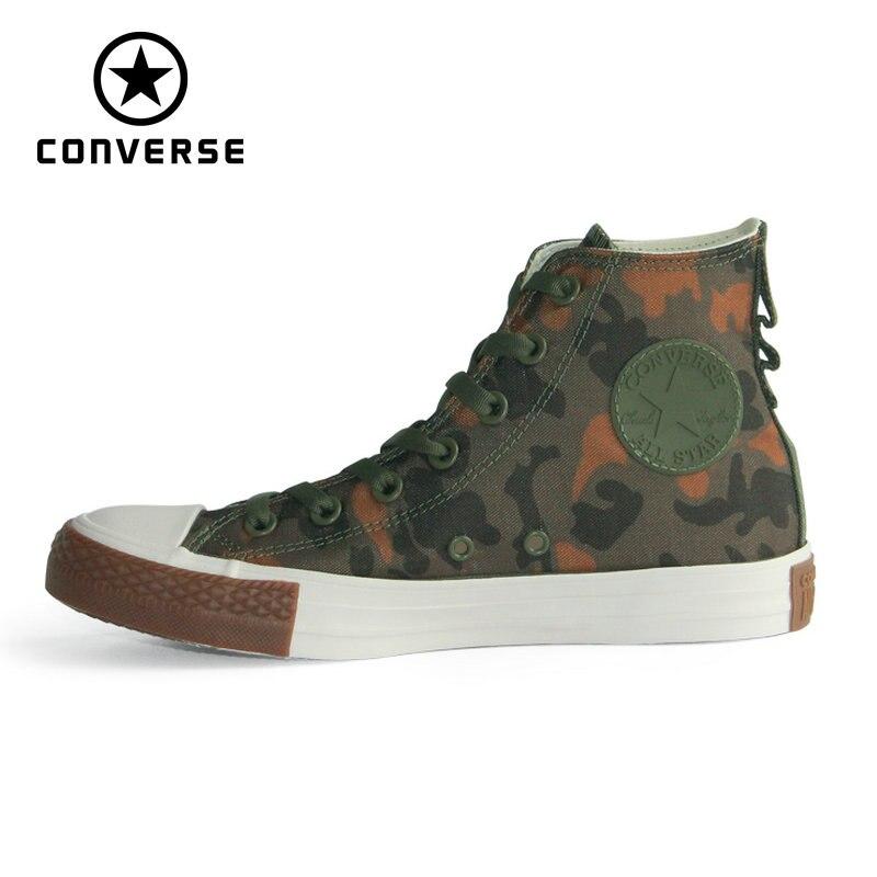 NUOVO 1970 s Converse camouflage di alta stile Originale tutte le scarpe stella scarpe da tennis unisex Scarpe da pattini e skate 161429C