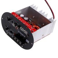 120W 8 12 Core Tube Car Board Tritone Pure Bass Amplifier 12V