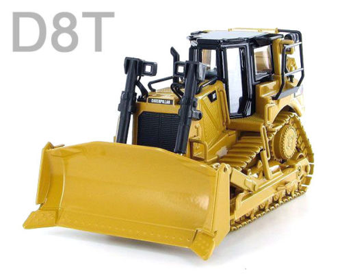 Norscot 1:50 Caterpillar CAT D8T Engineering Machinery Bulldozer Track Type Tractor Diecast Toy Model 55299 Collect,Decoration