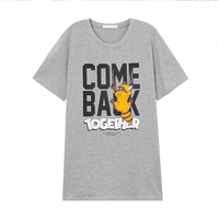 Summer Short Gray t Shirt Men Cotton 2019 Manga Longa Anime t Shirt Harajuku South Korea Clothing Russia Man Summer Tops Casual