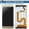 Cool1 Dual C106 LCD Display Touch Screen Digitizer Assembly Replacement For Letv Le LeEco Coolpad Cool 1 Cell Phone Parts
