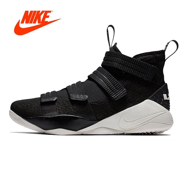 Original New Arrival Authentic Nike LEBRON SOLDIER 11mens Basketball Shoes  Sneakers Comfortable Breathable