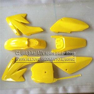 Image 5 - CRF 70 プラスチックカバーフェアリングキット CRF70 ダートピットバイク Procket バイク Xmotos バハ DR50 49 50cc 70 90 110 kayo hk 160