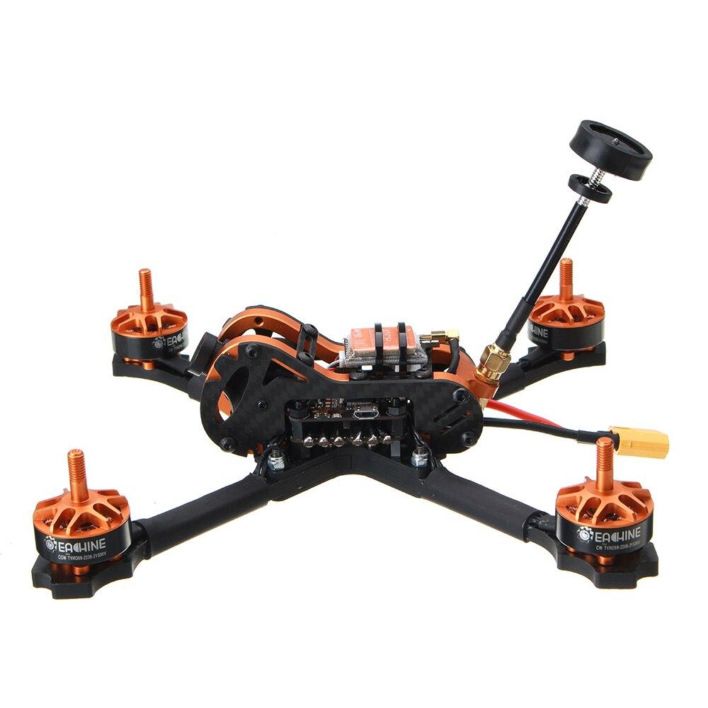 Eachine Tyro99 210mm bricolage Version FPV course RC Drone F4 OSD 30A BLHeli_S 40CH 600 mW VTX 700TVL Cam - 2