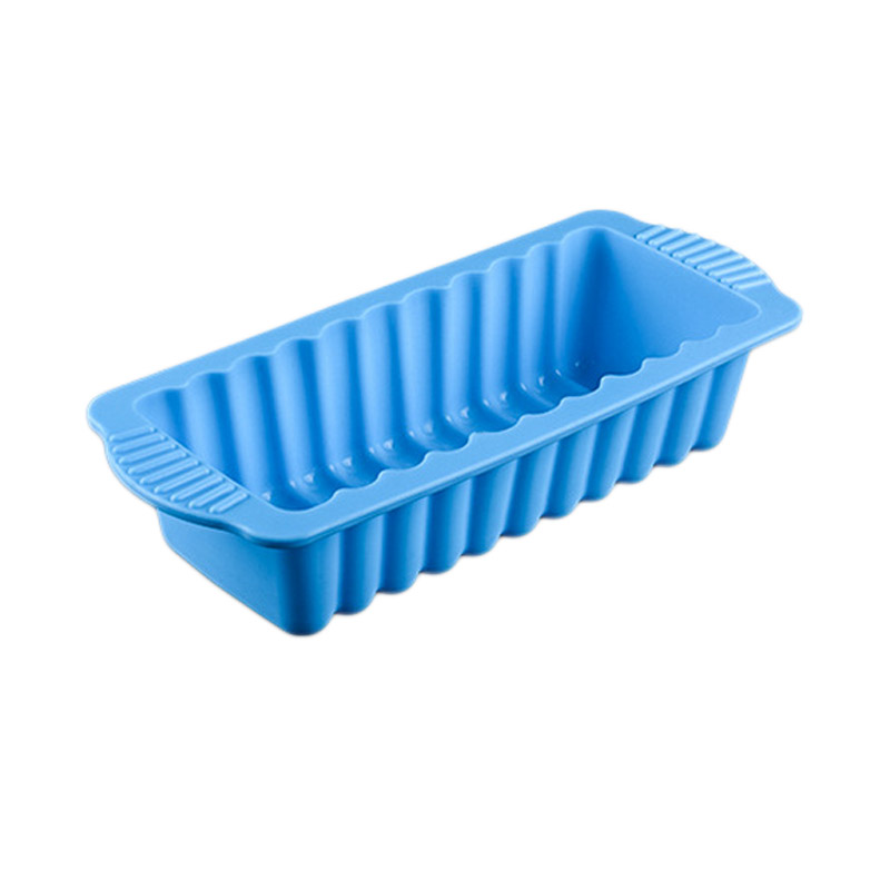 Silicone Rectangular Shape DIY Silicone Cake Decorate Mold Cake Pan Baking Tool For Brownie Chiffon Sponge Bakeware Accessories in Cake Molds from Home Garden