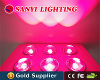 High cost effective 300W LED grow light full spectrum R+B+O+W+UV+IR for hydroponic systems