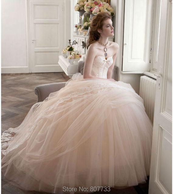 W246 Glamorous sweetheart lace applique girls tulle ball gown 2015 ...