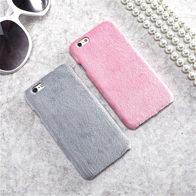 coque iphone 7 fourrure lapin