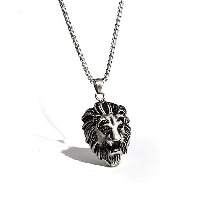 Lionheart Pendant Titanium steel lion necklace richard the lionheart logo titanium titanium steel lion necklace richard the lionheart logo titanium steel pendant stainless steel in chain mens audiocablefo