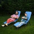 De alta Qualidade Ao Ar Livre Espreguiçadeiras Camping Cama Dobrável Cadeira de Praia Fácil Ângulo Ajustável Respirável À Prova D' Água Móveis de Varanda
