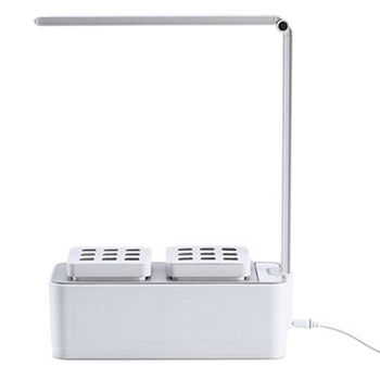 Intelligent Herbal Garden Kit Led Plant Growth Light Hydroponics Planting Multifunction Table Lamp Garden Plant Growth Tent Bo
