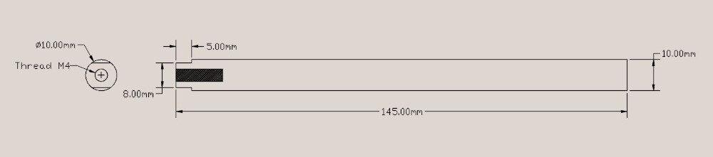 Quartz furance tube / OD*L=10*145mm / high-temperature / high purity clear quartz tube quartz furance tube od id length 60 52 300mm high temperature high purity clear quartz tube