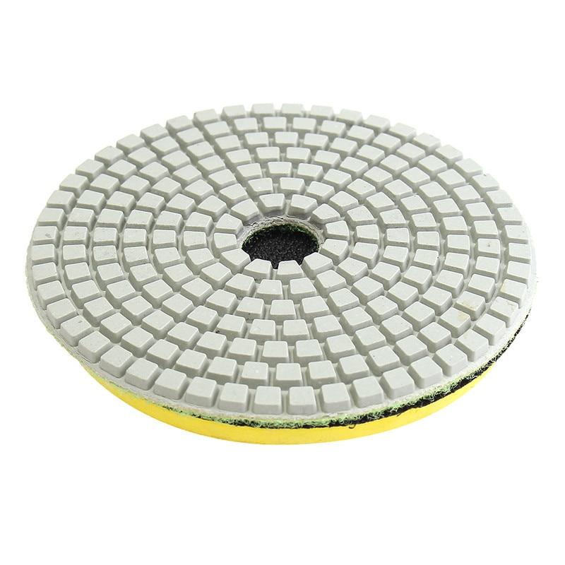 4 inch Diamond Polishing pads 19 Piece Set Granite Marble Concrete ...