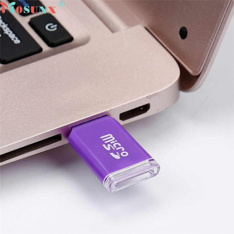 Mosunx Geavanceerde U disk Brand new en hoge kwaliteit High Speed Mini USB 2.0 Micro SD TF T-Flash Geheugenkaart reader Adapter 1 PC