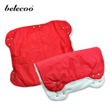 Belecoo New Baby Stroller Warmer Pushchair Hand Muff Waterproof Pram Baby Carriage Buggy Clutch Cart Muff(China)