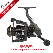 Anyfish RAPPY Spinning Fishing Reel 2000/3000/4000/5000/6000 model 10+1 ball bearings Max drag 6kg/8kg Gear ratio 6.3:1