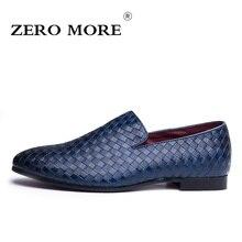 Zero более искусственная кожа ткань мужские лоферы Повседневное слипоны Для мужчин без каблука Обувь Мягкая и дышащая мужская обувь размеры 38–44 # ZM104