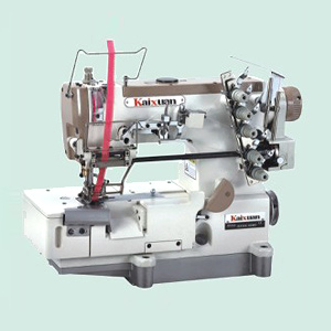 Планшетный швейная машина с блокировкой для эластичного кружева с кромкой обрезки KX500 05MD