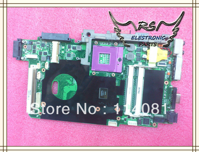Motherboard Notebook para asus K61IC X66IC K70IO K51IO REV 2.1 Mainboard original novo