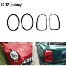MINI F56 Accessories For Mini Cooper F55 Headlight Frame Decorative Taillights Exterior Car Stickers Lamp Hoods