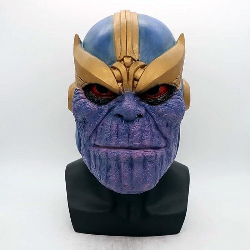 The Avengers 3 Infinity War Thanos Gauntlet Cosplay Gloves Prop Halloween Latex Avengers: Mask Energy