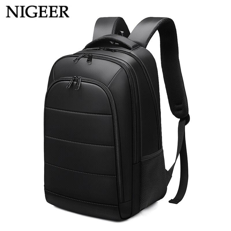 15,6 дюймов рюкзак для ноутбука зарядка через usb для мужчин Mochila дорожные сумки водоотталкивающая для Для мужчин для девочек-подростков рюкза...