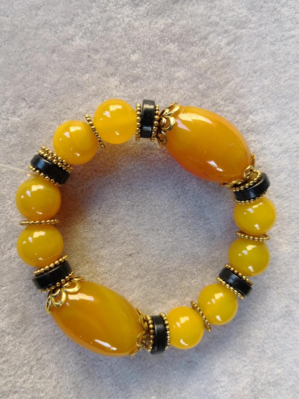 Yellow Agate AA Bracelet