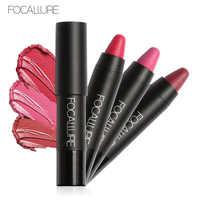 FOCALLURE Makeup 3 Color Matte Lipstick With Long Lasting Waterproof Effect Matte Soft Lip Stick 3pcs
