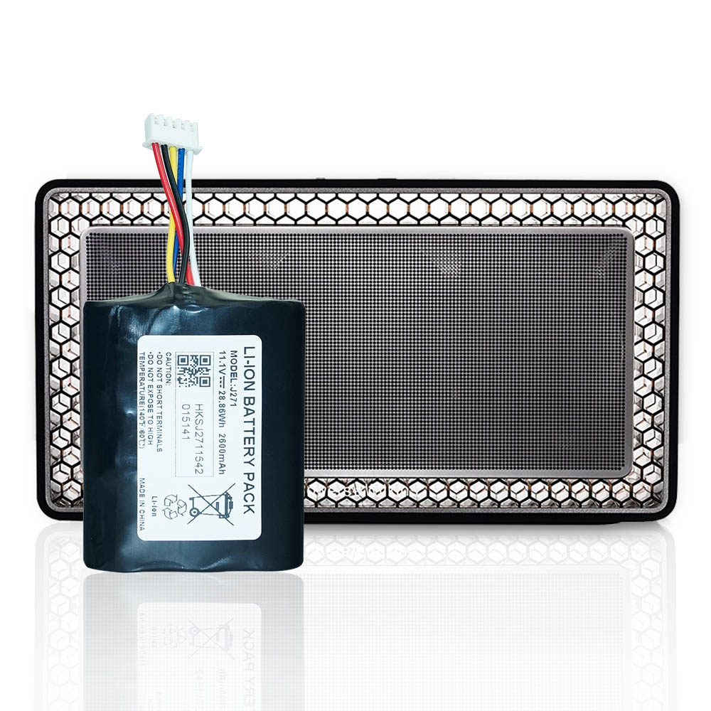 Hixon 2600mAH Replacement Battery for Bowers Wilkins T7 Portable Bluetooth Speaker