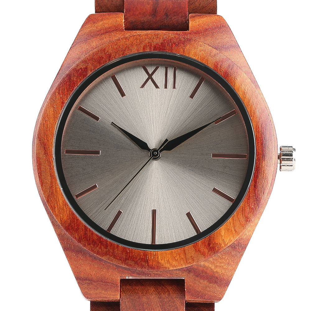 2017 Luxury Full Bamboo Wood Watches Fold Over Clasp Mirror Dial Quartz-watch Mens Sports Casual relogio masculino esportivo new 100% handmade head deer elk dial design mens bamboo wood quartz watch with real leather strap for gift relogio masculino