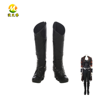 Guardians Of The Galaxy 2 Gamora Boots Halloween Shoes Party Carnival Accessories For Adult Woman High
