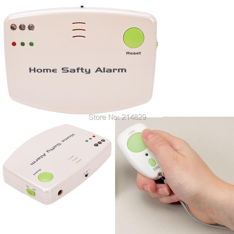 Home Safety Alert Care Call Fall Alarm Patient Medical Elderly Panic Pendant SOS