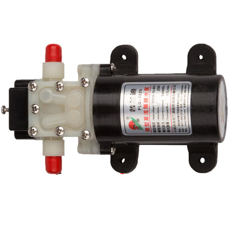 Yuenhoang 1PCS 12V 24V Mini Water Pump 1201/1202/1203/1204 Sprayer Pump Self priming Diaphragm Pumps for Plant Protection Drone